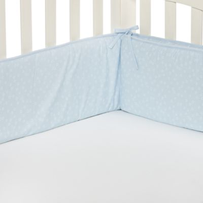 TL Care® Blue Star Crib Bumper