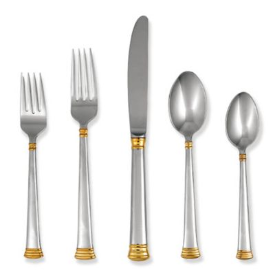 Lenox® Eternal® Gold Flatware 5-Piece Place Setting