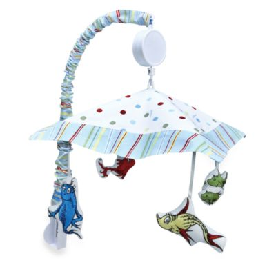 Dr. Seuss' One Fish Two Fish Musical Mobile