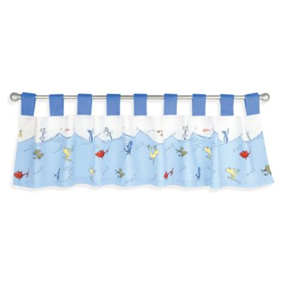 Dr. Seuss' One FishTwo Fish Window Valance