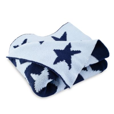 Elegant Baby® Star Blanket in Navy