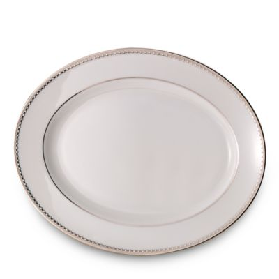 Lenox® Pearl Platinum™ 13-Inch Oval Platter