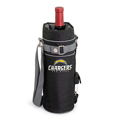 Picnic Time Insulated Single Bottle Wine Sack - San Diego Chargers