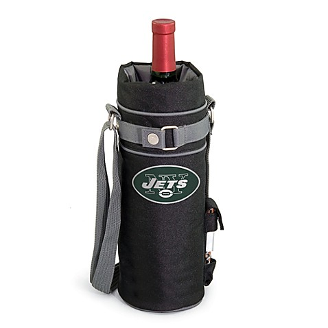 Picnic Time Insulated Single Bottle Wine Sack - New York Jets