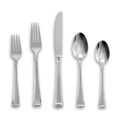Gorham® Column Frosted™ Flatware 5-Piece Place Setting