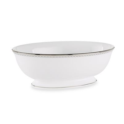 Lenox® Pearl Platinum™ 10-Inch Open Vegetable Bowl