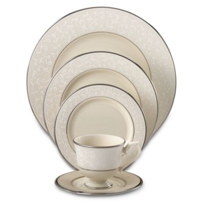 Precious Platinum Place Setting