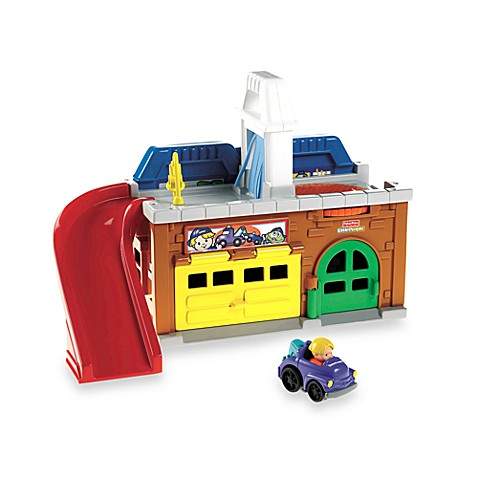 Fisher-Price® Little People® Wheelies™ Stow 'n Tow Garage