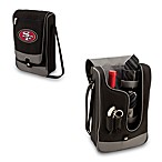 Picnic Time® San Francisco 49ers Barolla Insulated Wine Cooler Tote in Black