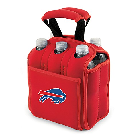 Picnic Time® Buffalo Bills Six-Pack Cooler Tote in Red