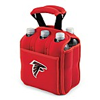Picnic Time® Atlanta Falcons Six-Pack Cooler Tote in Red