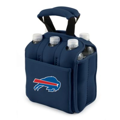 Picnic Time® Buffalo Bills Six-Pack Cooler Tote in Navy Blue