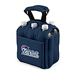 Picnic Time® New England Patriots Six-Pack Cooler Tote in Navy Blue