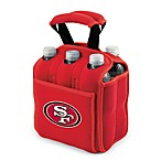 San Francisco 49ers Picnic Time® Six-Pack Cooler Tote in Red