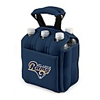 Picnic Time® St. Louis Rams Six-Pack Cooler Tote in Navy Blue
