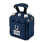 Indianapolis Colts Picnic Time® Six-Pack Cooler Tote in Navy Blue