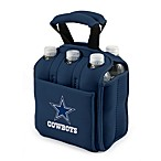 Picnic Time® Dallas Cowboys Six-Pack Cooler Tote in Navy Blue