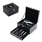 Cleveland Browns Cabernet Wine Accessory 8-Piece Boxed Set in Black