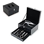 Carolina Panthers Cabernet Wine Accessory 8-Piece Boxed Set in Black