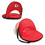 Picnic Time® Kansas City Chiefs Oniva Portable Reclining Seat in Red