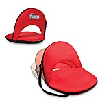 Picnic Time® New England Patriots Oniva Portable Reclining Seat in Red