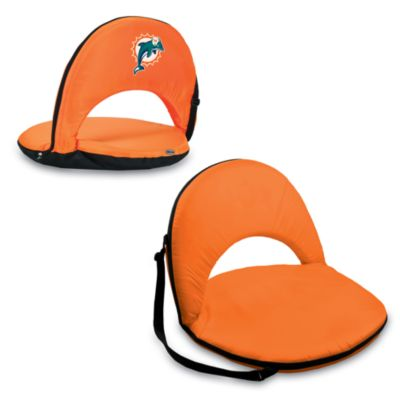Picnic Time® Miami Dolphins Oniva Portable Reclining Seat in Orange