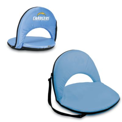 Picnic Time® San Diego Chargers Oniva Portable Reclining Seat in Light Blue