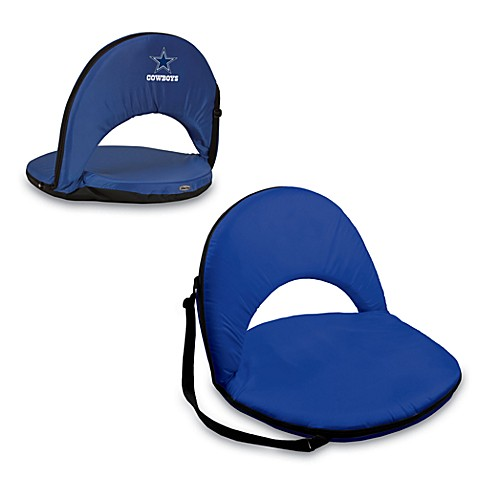 Picnic Time® Dallas Cowboys Oniva Portable Reclining Seat in Navy Blue
