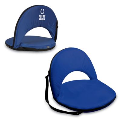 Indianapolis Colts Picnic Time® Oniva Portable Reclining Seat in Navy Blue