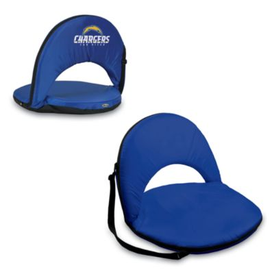 Picnic Time® San Diego Chargers Oniva Portable Reclining Seat in Navy Blue