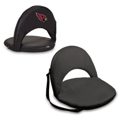 Picnic Time® Arizona Cardinals Oniva Portable Reclining Seat in Black