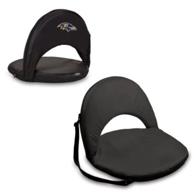 Picnic Time® Baltimore Ravens Oniva Portable Reclining Seat in Black
