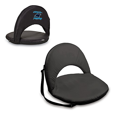 Picnic Time® Carolina Panthers Oniva Portable Reclining Seat in Black