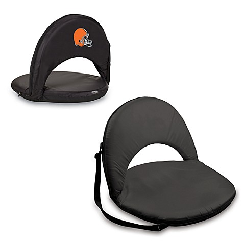 Picnic Time® Cleveland Browns Oniva Portable Reclining Seat in Black