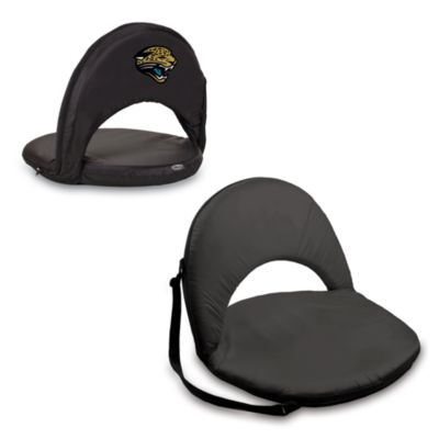Picnic Time® Jacksonville Jaguars Oniva Portable Reclining Seat in Black