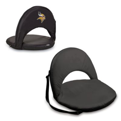 Picnic Time® Minnesota Vikings Oniva Portable Reclining Seat in Black