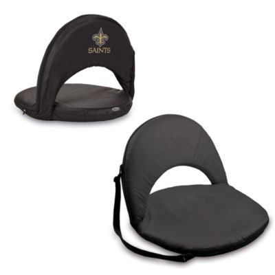 Picnic Time® New Orleans Saints Oniva Portable Reclining Seat in Black