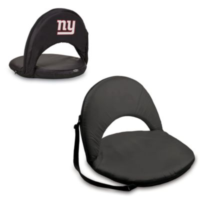 Picnic Time® New York Giants Oniva Portable Reclining Seat in Black