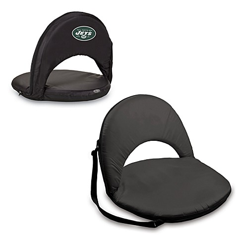 Picnic Time® New York Jets Oniva Portable Reclining Seat in Black