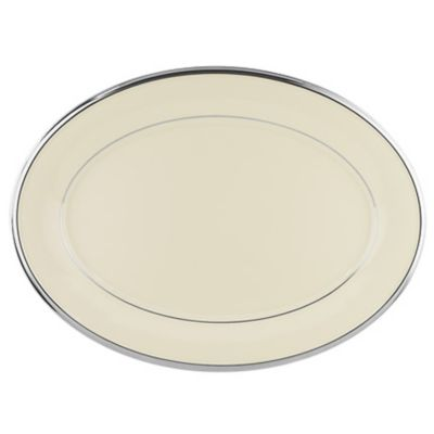 Lenox® Solitaire® 16-Inch Oval Platter