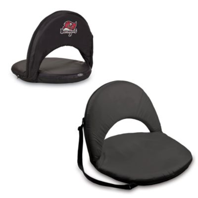 Picnic Time® Tampa Bay Buccaneers Oniva Portable Reclining Seat in Black