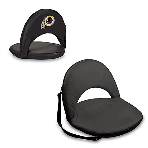 Picnic Time® Washington Redskins Oniva Portable Reclining Seat in Black