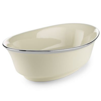 Lenox® Solitaire® 10-Inch Open Vegetable Bowl