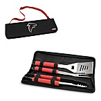 Picnic Time® Atlanta Falcons Metro BBQ Tote with Tools in Red