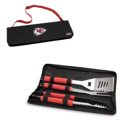Picnic Time® Kansas City Chiefs Metro BBQ Tote with Tools in Red