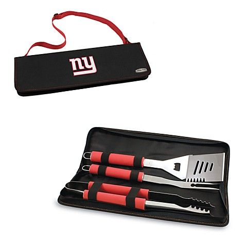 Picnic Time® New York Giants Metro BBQ Tote with Tools in Red