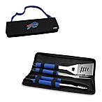 Picnic Time® Buffalo Bills Metro BBQ Tote with Tools in Blue