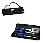 Picnic Time® New York Giants Metro BBQ Tote with Tools in Blue