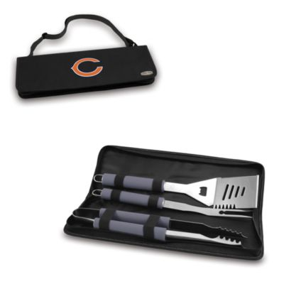 Picnic Time® Chicago Bears Metro BBQ Tote with Tools in Black