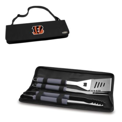 Picnic Time® Cincinnati Bengals Metro BBQ Tote with Tools in Black